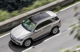 Mercedes-Benz GLE 2019 overhead action