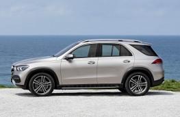 Mercedes-Benz GLE 2019 profile static