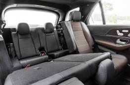 Mercedes-Benz GLE 2019 rear seats