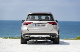 Mercedes-Benz GLE 2019 rear static