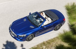 Mercedes-Benz SL 400, aerial view