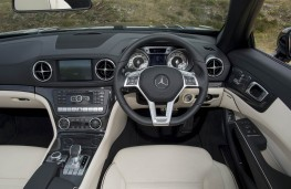 Mercedes-Benz SL 400, dashboard