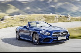 Mercedes-Benz SL 400, front action
