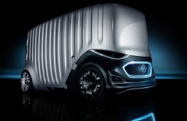 Mercedes Vision Urbanetic Cargo Mover