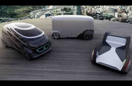 Mercedes Vision Urbanetic modules