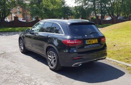 Mercedes-Benz GLC 250 AMG Line, rear