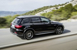 Mercedes-AMG GLC 43 4MATIC, side