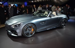Mercedes-AMG GT C Roadster, 2016, Los Angeles auto show