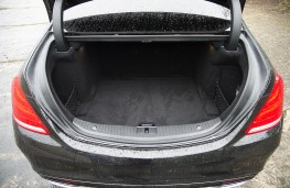 Mercedes S 300 BlueTEC Hybrid, boot