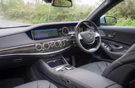 Mercedes S 300 BlueTEC Hybrid, interior