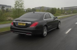 Mercedes S 300 BlueTEC Hybrid, rear