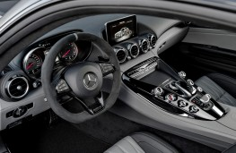 Mercedes-AMG GT C Coupe Edition 50, 2017, interior
