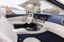 Mercedes E-Class Cabriolet, 2017, interior