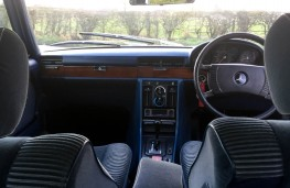 Mercedes-Benz 450 SEL, 1977, once owned by Barry Gibb, interior