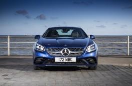 Mercedes-Benz SLC 180 AMG Line, nose
