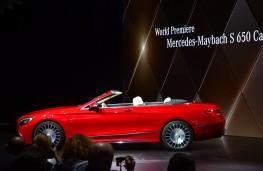 Mercedes-Maybach S 650 Cabriolet, 2016, Los Angeles auto show