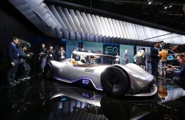 Mercedes-Benz EQ Silver Arrow, Paris Motor Show, 2018