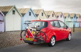 Vauxhall Meriva, carrying bike
