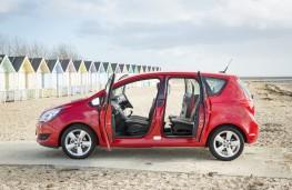Vauxhall Meriva, doors open