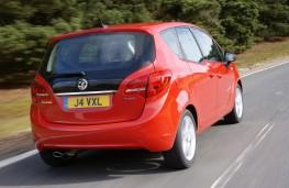 Vauxhall Meriva, rear