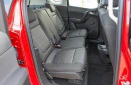 Vauxhall Meriva, rear seats