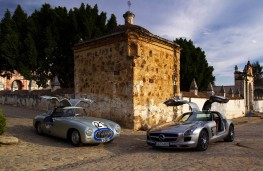 1952 Mercedes 300 SL with SLS AMG in Mexico