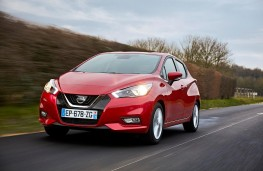 Nissan Micra 1.0, 2017, front