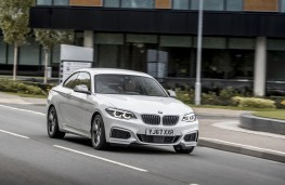 BMW M240i, 2017, front, action