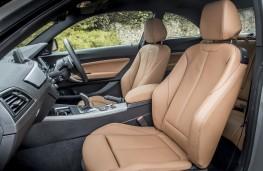 BMW M240i, 2017, front seats