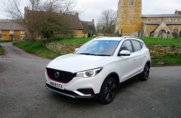 MG ZS, front static