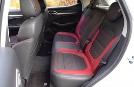 MG ZS, rear seats