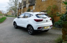 MG ZS, rear static