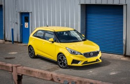 MG3, front static
