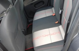 MG3, rear seats