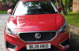 MG3 1.5 Excite, face