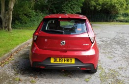 MG3 1.5 Excite, rear