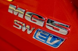 MG5 EV, 2020, badge