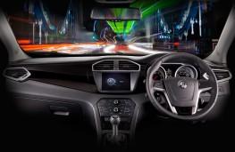 MG GS, interior, manual