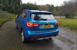MG HS 1.5 Exclusive, rear