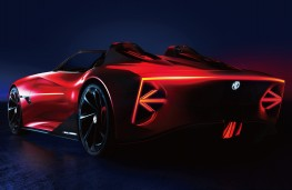 MG Cyberster concept, 2021, rear