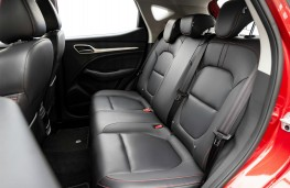 MG ZS, interior, rear