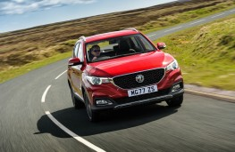 MG ZS, dynamic