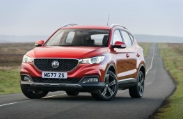 MG ZS, front