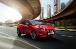 Nissan Micra, 2017, front, action
