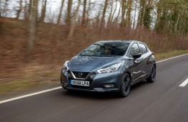 Nissan Micra N-Sport, 2019, front, action