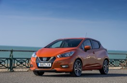 Nissan Micra, 2017, front, static