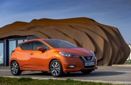 Nissan Micra, 2017, front
