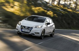 Nissan Micra, N-Sport, 2019, front, action