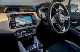 Nissan Micra, 2017, dashboard