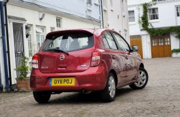 Nissan Micra DIG-S, rear